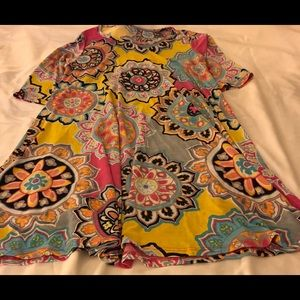 Tops - Multi colored tunic